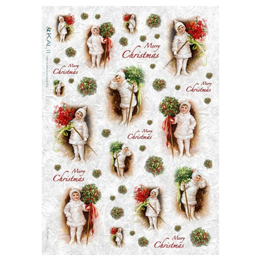 Ριζόχαρτο PaperD Χριστουγεννιάτικο 30x45cm - CHR0239