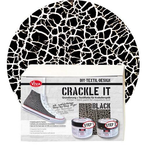 Crackle it, Set, Black, Viva Décor