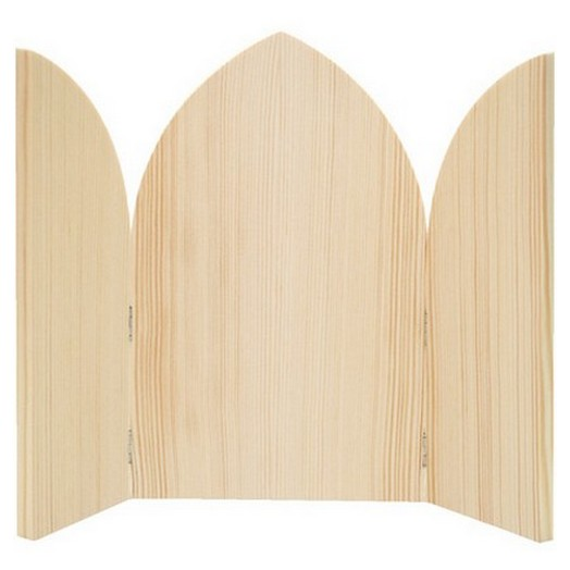 Εικόνα τρίφυλλη ξύλινη