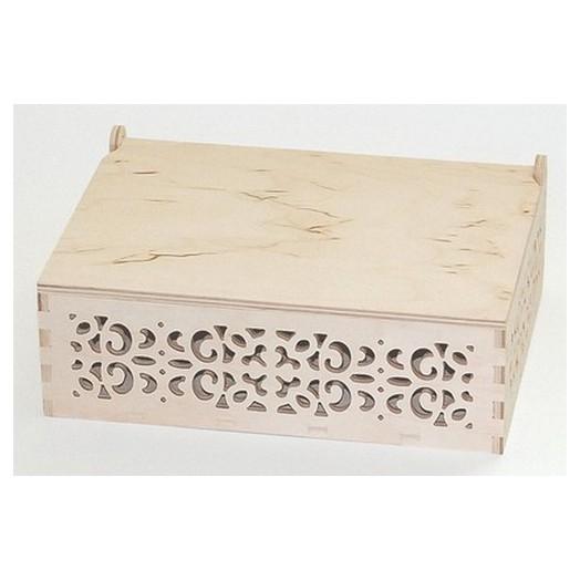 Κουτί σκαλιστό 23x17x9 cm