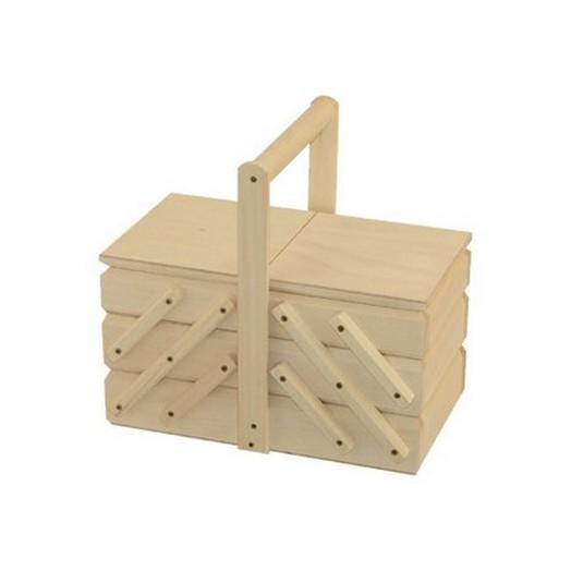 Θήκη ξύλινη οργάνωσης 26x16 x24cm