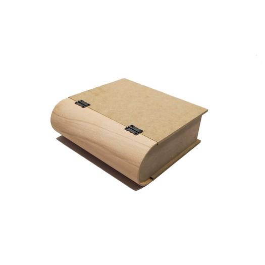 Κουτί - βιβλίο, 25x23x9 cm