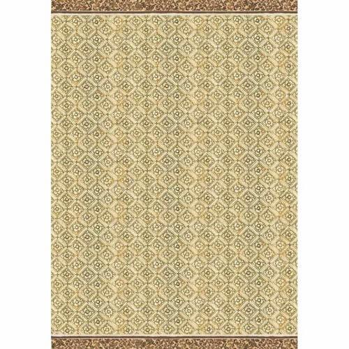 Ριζόχαρτο Stamperia 29,7x42cm A3,  Texture ocher background