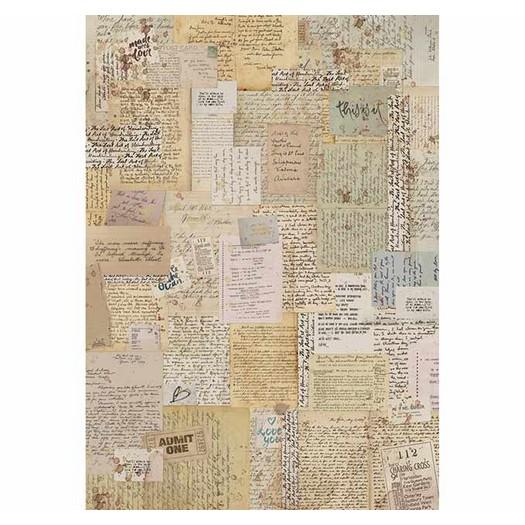 Ριζόχαρτο Stamperia 21x29cm A4,  Background notes