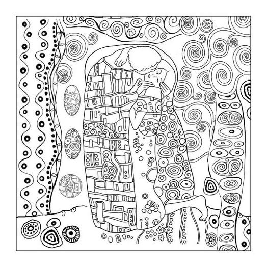 Ριζόχαρτο Napkin Stamperia 50x50cm, Klimt 'The Kiss'