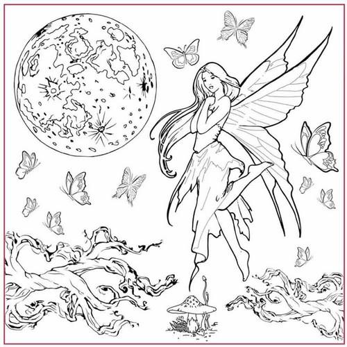 Ριζόχαρτο Napkin Silhouette Stamperia, 50x50cm Fairy