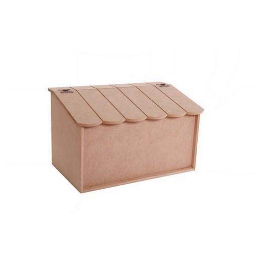 Κουτί για ρούχα Mdf 40x24x25cm