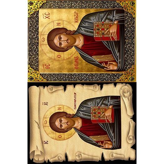 Ριζόχαρτο εκκλησιαστικό για decoupage 30x40cm, 50112