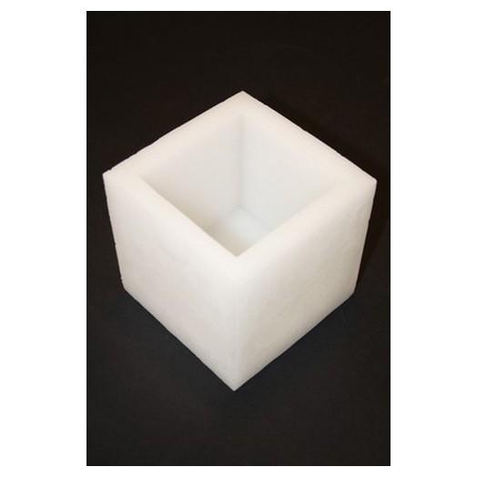 Κουφωτό Κερί Τετράγωνο 10x10,5 Ycm