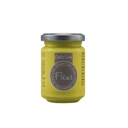 Χρώμα Fleur Chalky Look 130ml, Primary Yellow