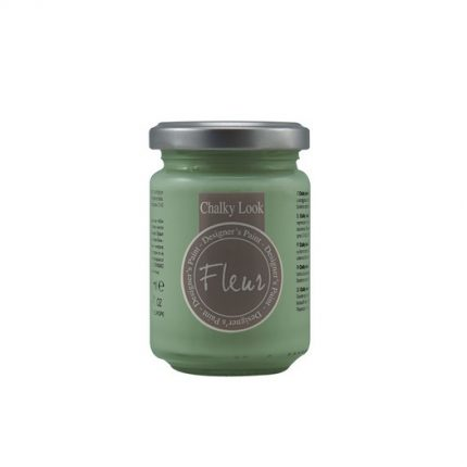 Χρώμα Fleur Chalky Look 130ml, Welcome green