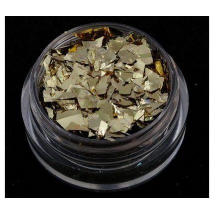 Glitter 40ml, Gold Flakes