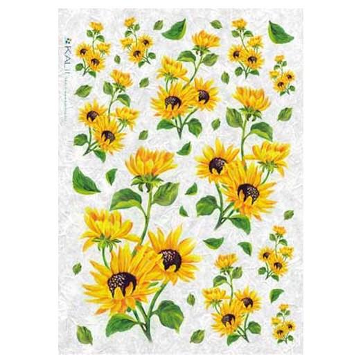 Ριζόχαρτο KALIT για Decoupage 32x45cm, FLOWERS_0094