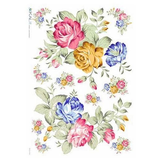 Ριζόχαρτο KALIT για Decoupage 32x45cm, FLOWERS_0143