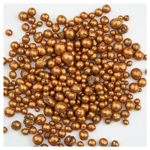 Glitter pearls, Copper, 150ml