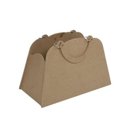 Τσάντα Mdf 41x26x25cm
