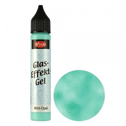Glass Effect Gel, Viva Decor 28 ml - Seagreen