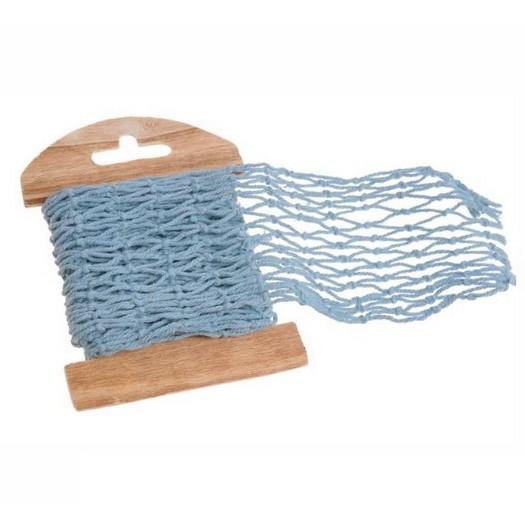 Κορδέλα-δίχτυ, blue 7cm x 1m