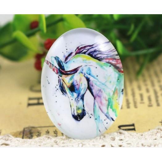 Γυαλάκι Photo Glass 30x40mm Dream Horse – 1 τεμ