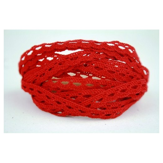 Δαντέλα κόκκινη - 3m