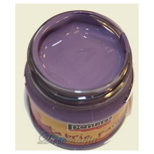 Χρώμα Για Ύφασμα Dark Violet 50ml
