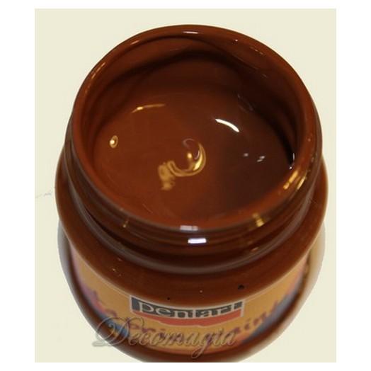 Χρώμα Για Ύφασμα Dark-Brown 50ml