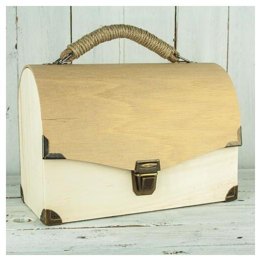 Τσάντα ξύλινη 29x20cm