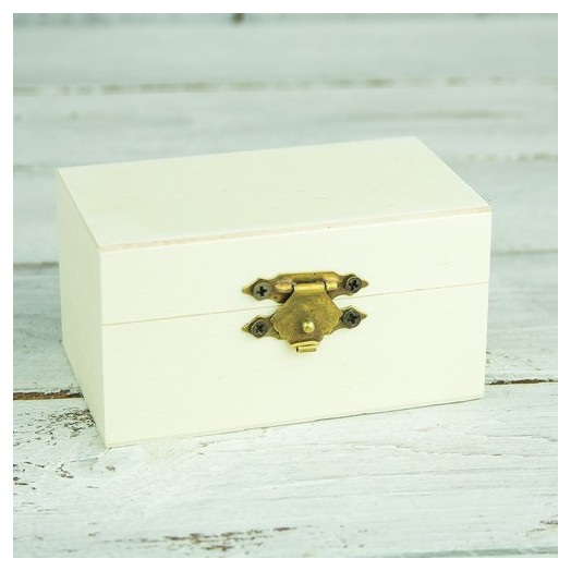 Κουτάκι για μπομπονιέρα ξύλινο 9x5x5,5 cm