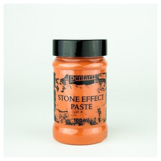 Stone effect Paste (εφέ πέτρας) Pentart 100ml - Terracota