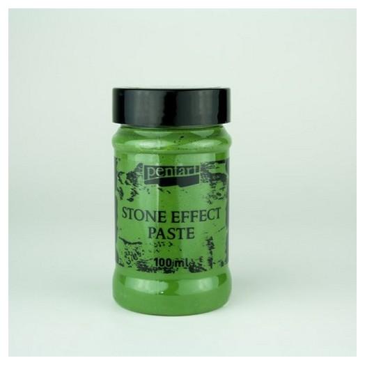 Stone effect Paste (εφέ πέτρας) Pentart 100ml - Green granite