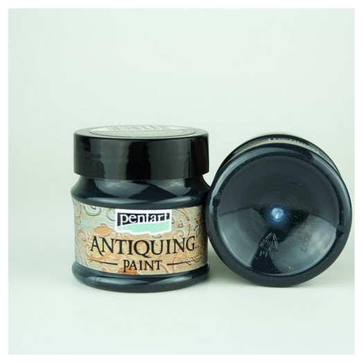 Antiquing Paint Pentart 50ml - Black