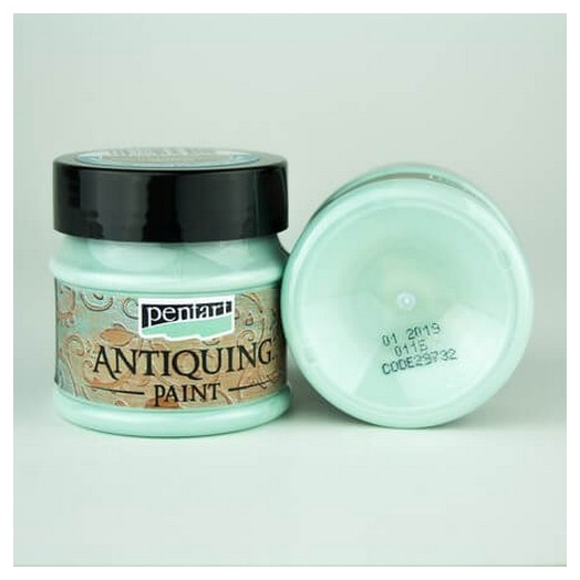Antiquing Paint Pentart 50ml - Patina Blue