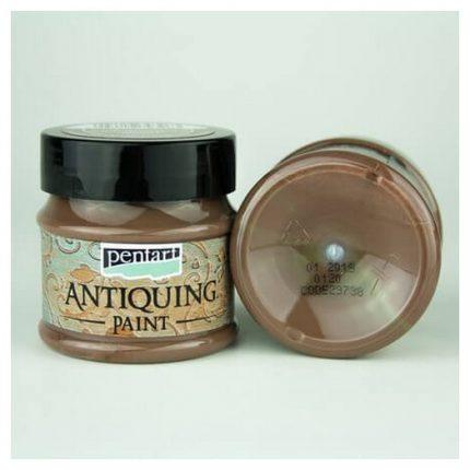 Antiquing Paint Pentart 50ml - Dark brown