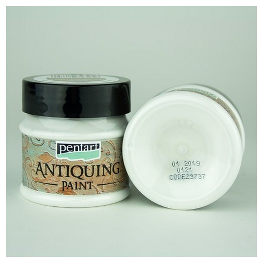 Antiquing Paint Pentart 50ml - White