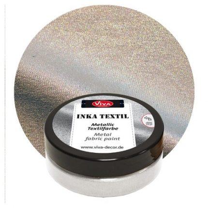 Inka-Textil 50ml, Platinum