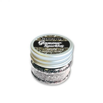 Glamour Sparkles, Silver, Stamperia