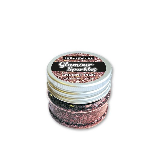 Glamour Sparkles, Ancient Pink, Stamperia