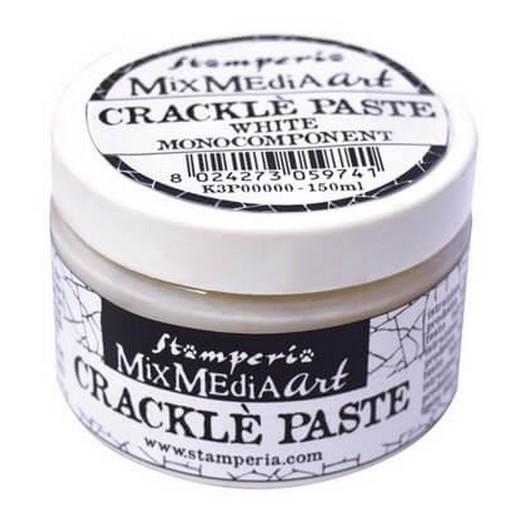 Mix Media Crackle Paste 150 ml, Stamperia