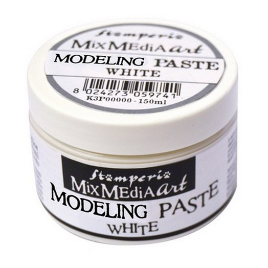 Modelling Paste White 150 ml, Stamperia