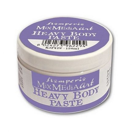 Heavy body paste 150ml White , Stamperia