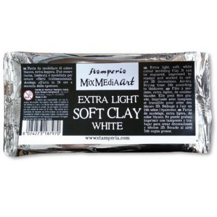 Πηλός Soft Clay 80 gr., Stamperia