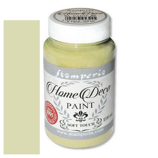 Home Deco Soft Paint 110ml Stamperia - Sage green