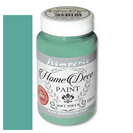 Home Deco Soft Paint 110ml Stamperia - Arsenic