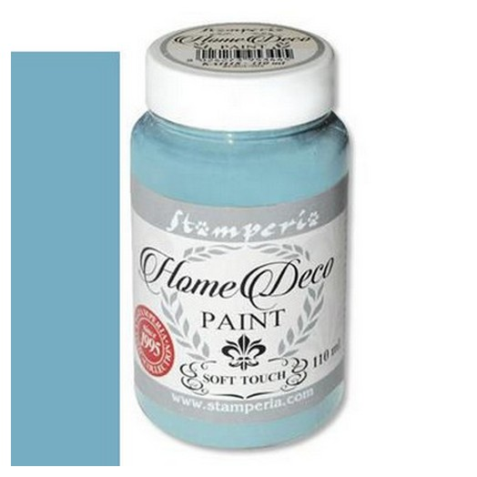 Home Deco Soft Paint 110ml Stamperia - Dusty blue
