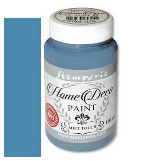Home Deco Soft Paint 110ml Stamperia - Blue