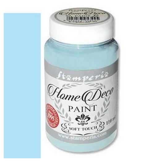 Home Deco Soft Paint 110ml Stamperia - Sky blue