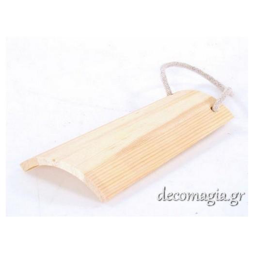 Κεραμίδι ξύλινο 12,3x19,50cm