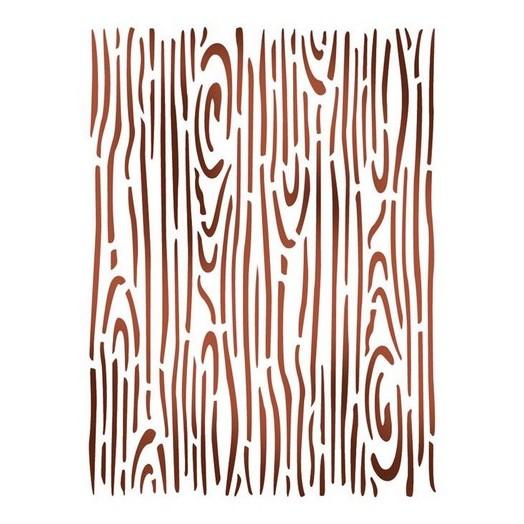 Stencil 20X15cm, Stamperia, Wood effect