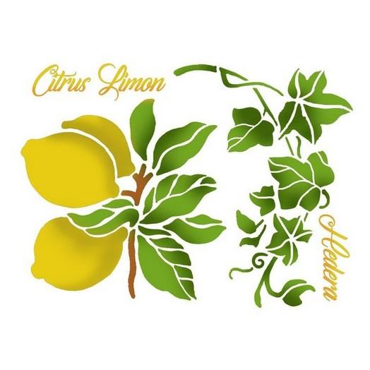 Stencil 20X15cm, Stamperia, Lemons