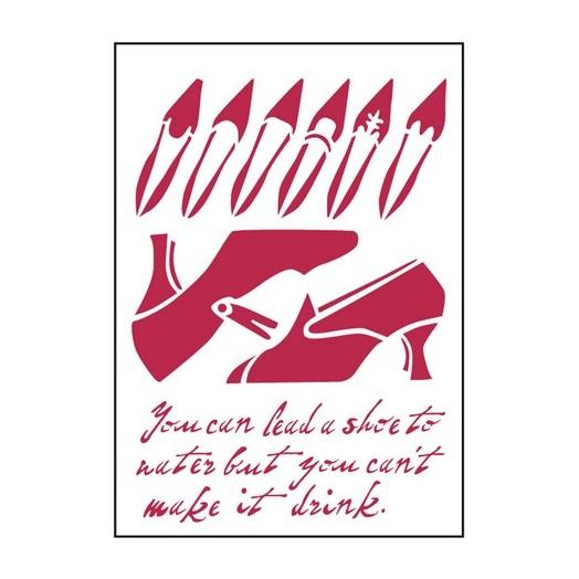 Stencil 21x29,7cm Warhol 2, Stamperia